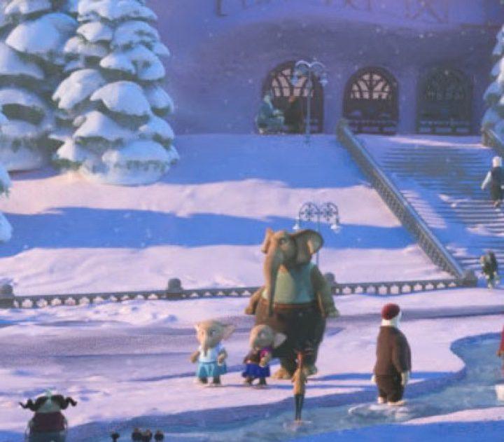 Zoom de la imagen anterior que desvela el guiño a 'Frozen' de Disney