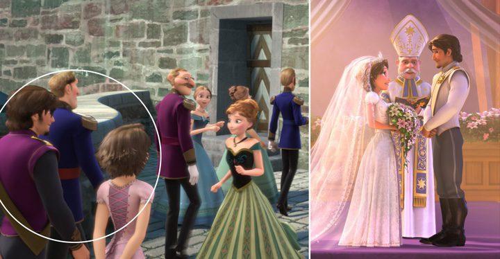 Los protagonistas de 'Enredados' aparecen en la coronación de Elsa