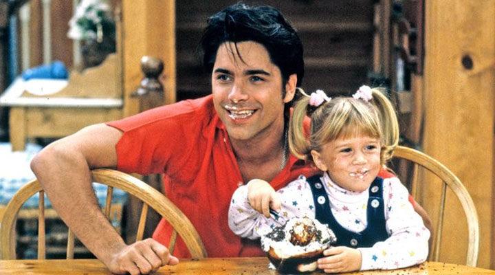 John Stamos y las gemelas Olsen