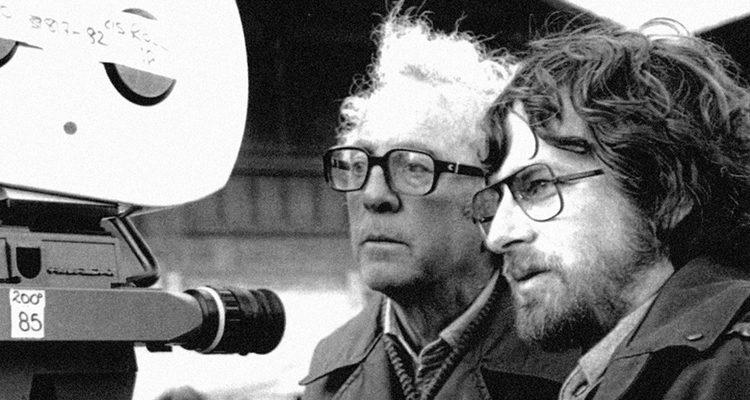 Douglas Slocombe y Steven Spielberg