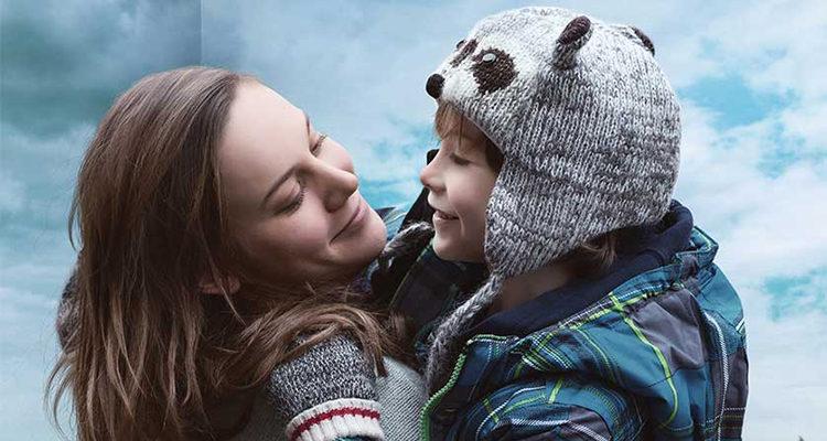 Brie Larson y Jacob Tremblay en 'La habitación'