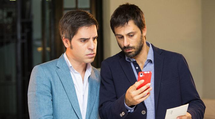 Hugo Silva y Ernesto Sevilla