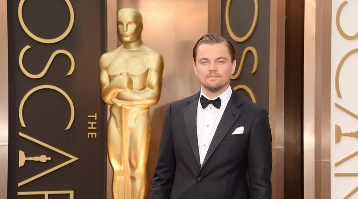 Leonardo DiCaprio en la gala de los Oscar