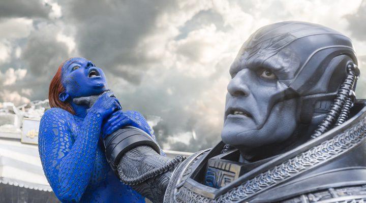 Mística y Apocalipsis en 'X-Men: Apocalipsis'