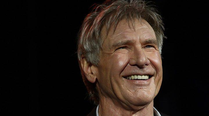 Harrison Ford después del rodaje de 'Star Wars: El despertar de la Fuerza