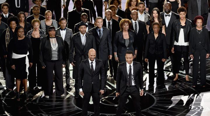 actuación Glory en los Oscar 2015