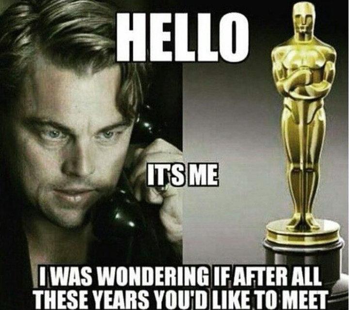 Los 28 gifs que ya no podremos usar tras el Oscar de Leonardo DiCaprio