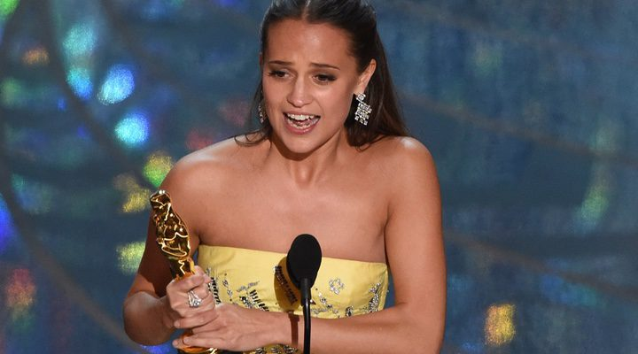 Vikander gana el Oscar a Mejor actriz secundaria