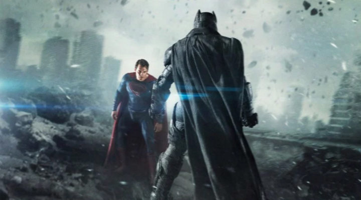 'Batman v Superman' poster
