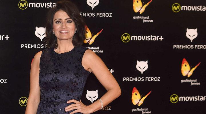 Silvia Abril en la alfombra de los Feroz