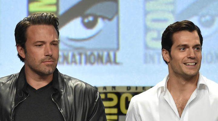 Ben Affleck y Henry Cavill posan juntos