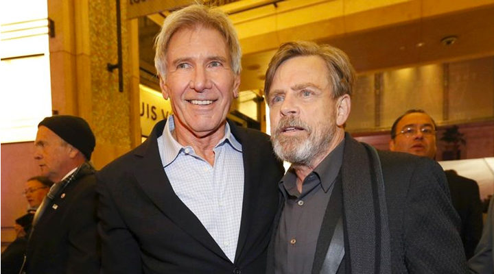 Harrison Ford y Mark Hamill