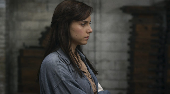 Aura Garrido en 'Vulcania'