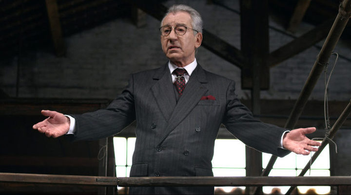 José Sacristán en 'Vulcania'