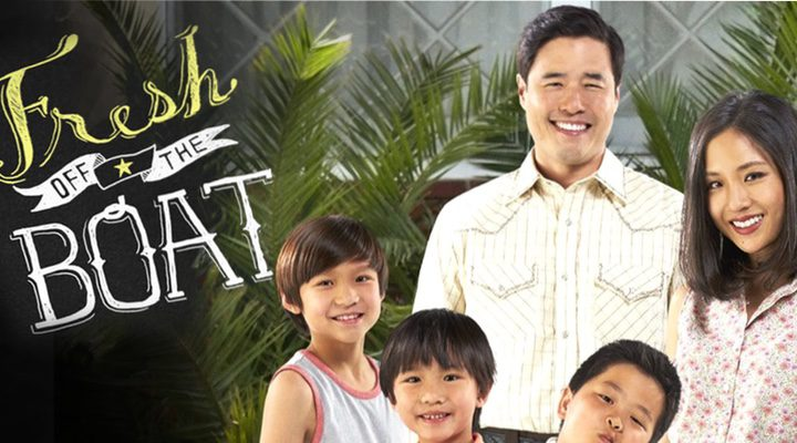 'Póster oficial de Fresh Off The Boat'