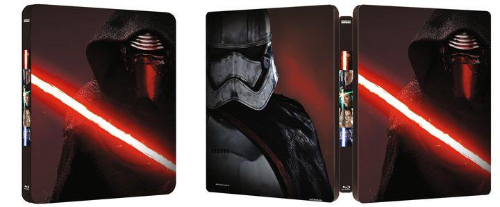 Steelbook Star Wars: El despertar de la fuerza
