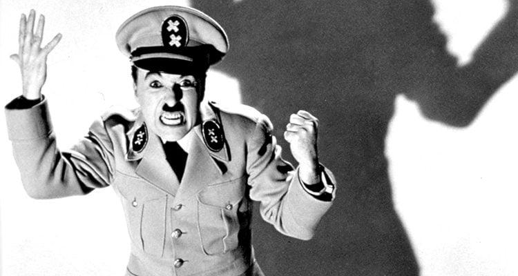 Charles Chaplin en 'El gran dictador'