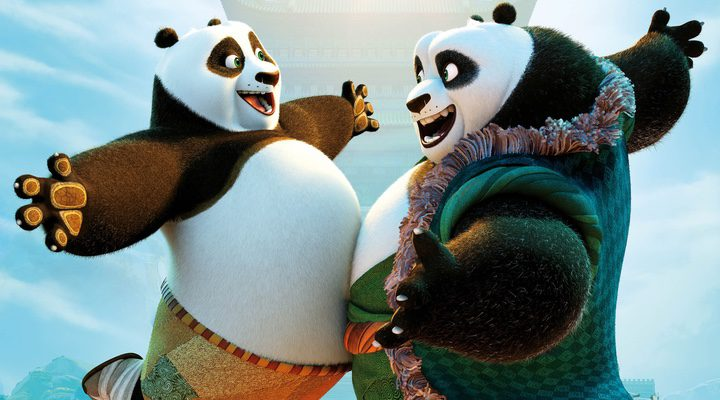Po y Li Shan en 'Kung Fu Panda 3'