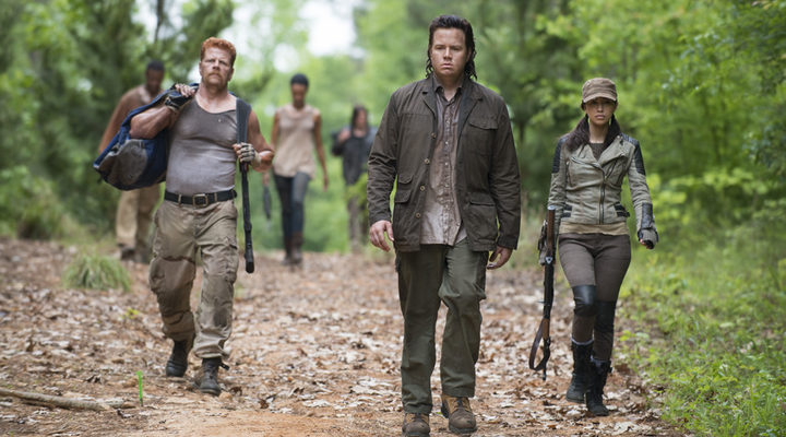 Eugene y Abraham en 'The Walking Dead'