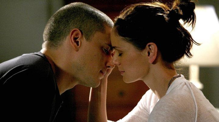 Michael Scofield y Sara Tancredi de 'Prison Break'