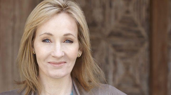 La escritora J.K Rowling