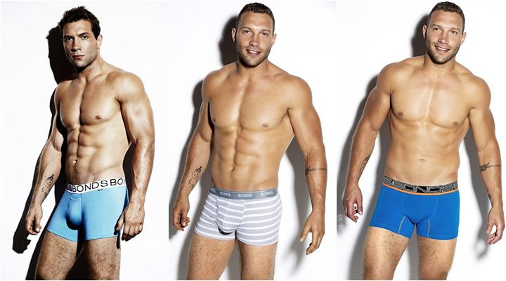 Jai Courtney en boxers