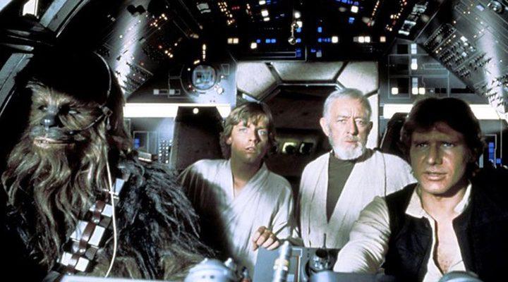parte del reparto de 'Star Wars: Episodio VII - El despertar de la fuerza'
