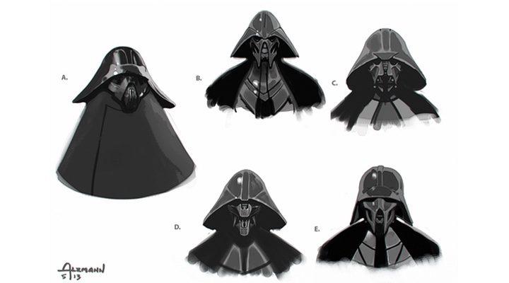 Versiones del casco de Kylo Ren