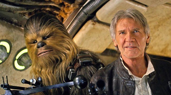 Han Solo y Chewbaca en 'Star Wars: El despertar de la fuerza