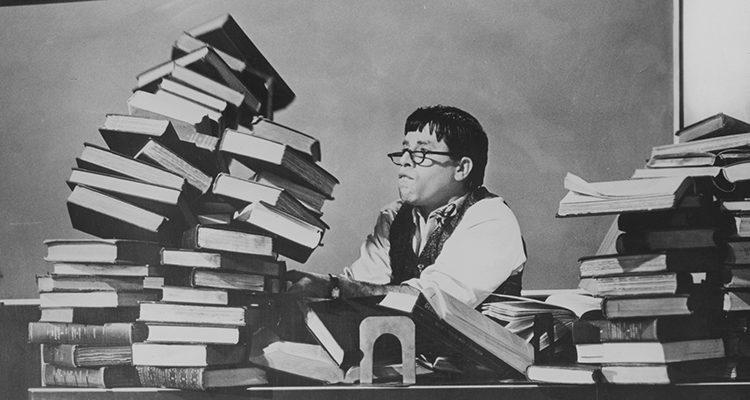 Jerry Lewis en 'El profesor chiflado'