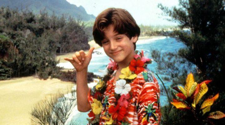 Elijah Wood en su película, con 14 años