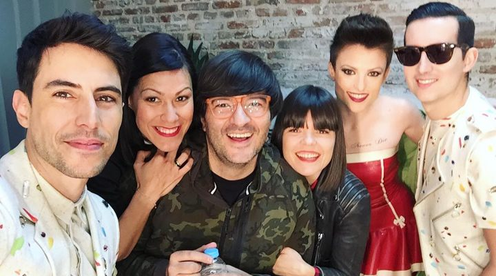 María Ordóñez, Pepino Marino, Crawford y Wally López en 'La que se avecina'