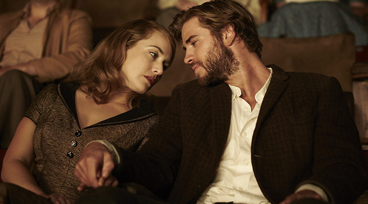 Kate Winslet y Liam Hemsworth en 'La Modista'