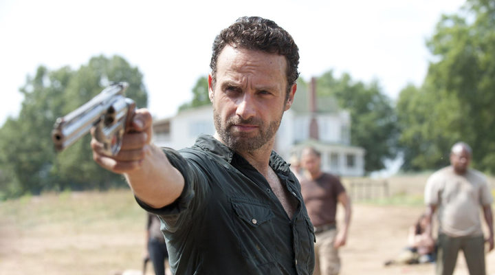 Andrew Lincoln como Rick Grimes en 'The Walking Dead'