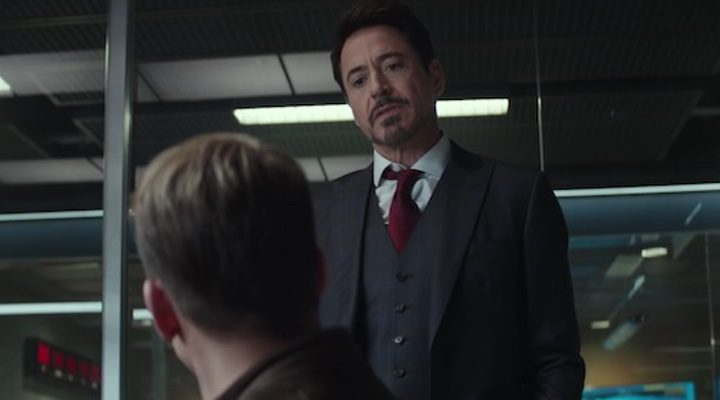 Robert Downey Jr. en 'Capitán América: Civil War'