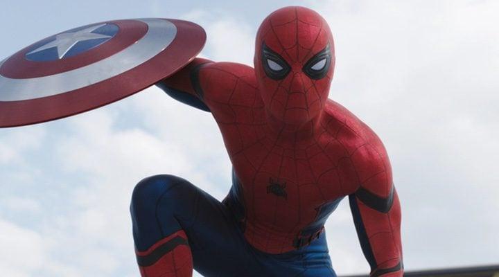 Spider-Man en 'Capitán América: Civil War'