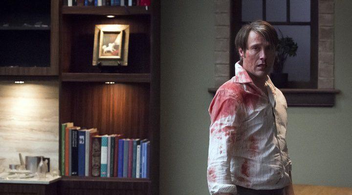 Mikkelsen en una de las escenas de la serie de la NBC