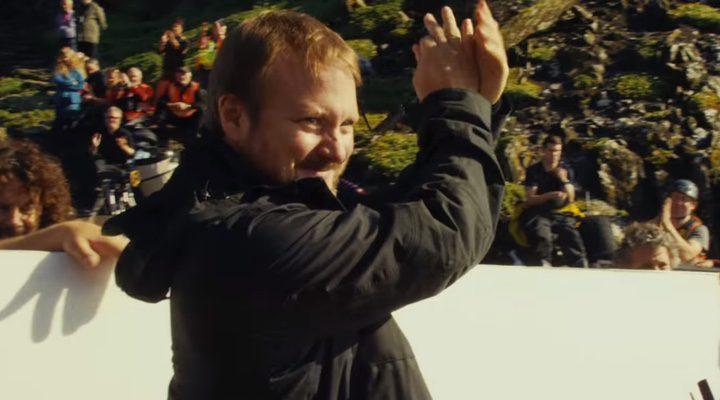 Rian Johnson en uno de los fotogramas del teaser de 'Star Wars: Episodio VIII'