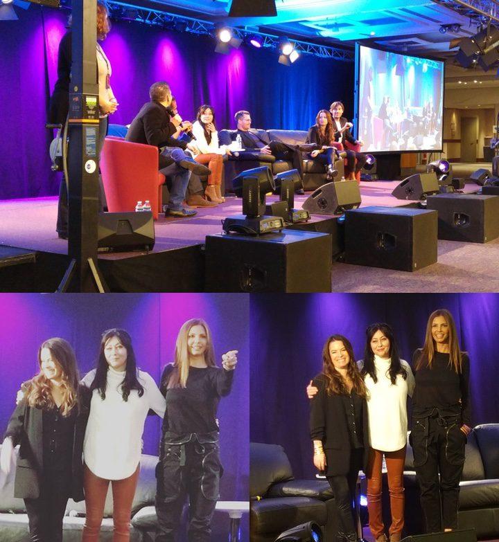 Convención de 'Embrujadas' con Shannen Doherty y Holly Marie Combs