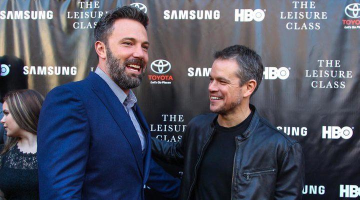 los actores Ben Affleck y Matt Damon