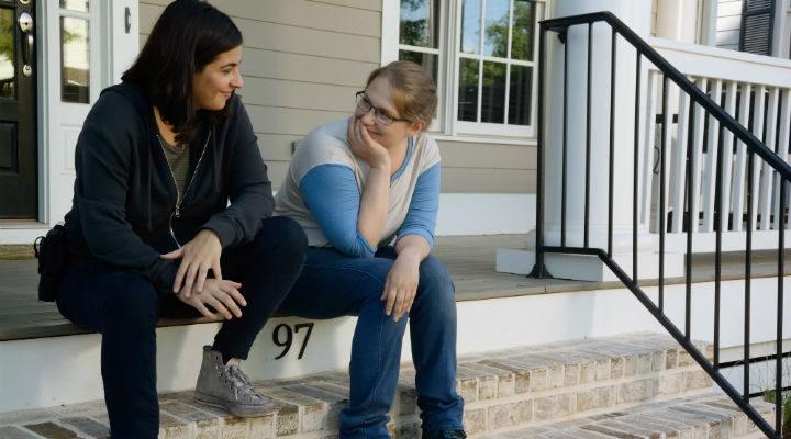 Denise y Tara en The Walking Dead