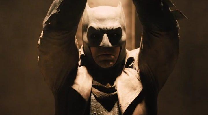 Ben Affleck en un momento d ela película