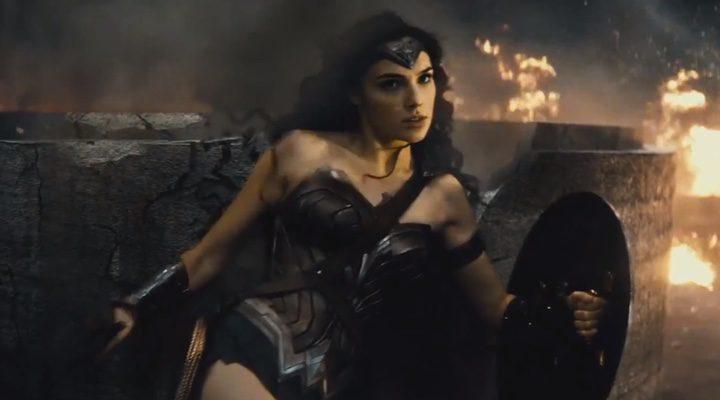 Wonder Woman (Gal Gadot en una secuencia de la película