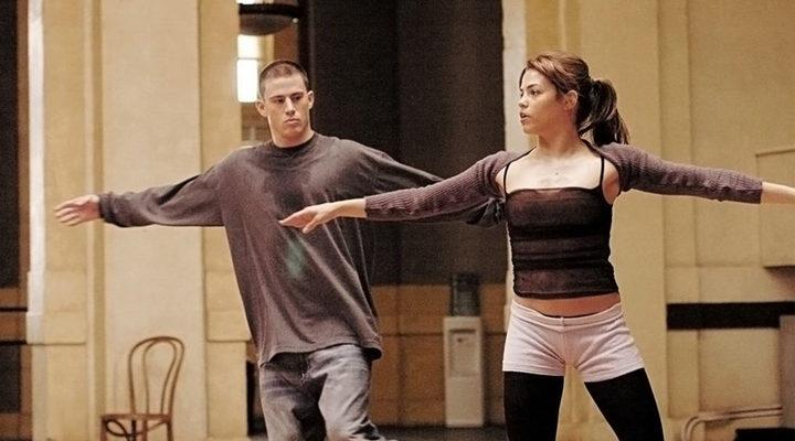 La pareja en 'Step up'