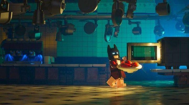 el batman de lego en 'The Lego Batman Movie'
