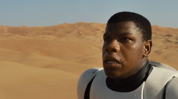 John Boyega, uno de los actores protagonistas de 'Star Wars: Episodio VII - El despertar de la fuerza'