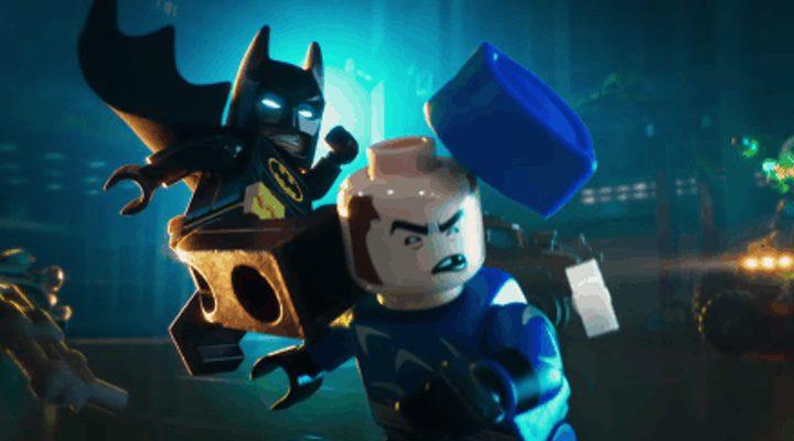El caballero oscuro en 'LEGO Batman: La película'