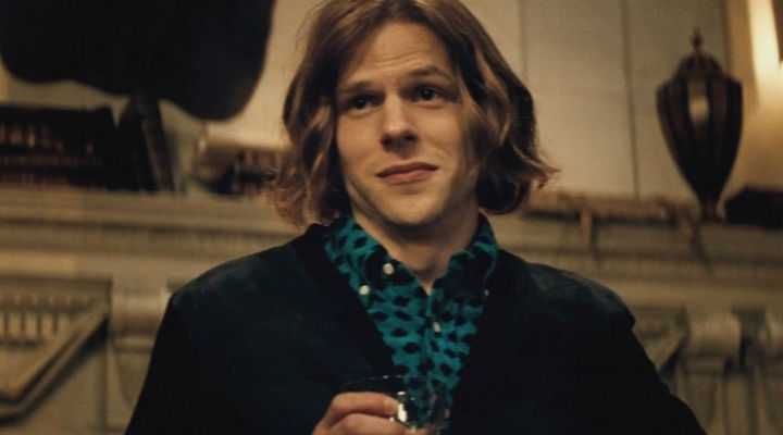 Jesse Eisenberg como Lex Luthor en Batman v Superman
