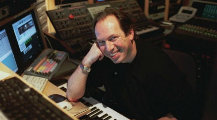 Hans Zimmer en el estudio de grabación