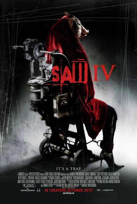 Cartel definitivo de 'Saw 4'